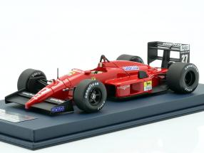 M. Alboreto Ferrari F1-87/88C #27 2nd Italien GP F1 1988 mit Vitrine 1:18 LookSmart
