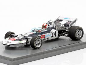 Rolf Stommelen Surtees TS9 #24 5th British GP formula 1 1971 1:43 Spark