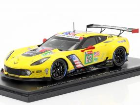 Chevrolet Corvette C7.R #63 24h LeMans 2019 Corvette Racing 1:43 Spark
