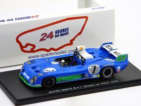 Matra MS670B #7 Pescarolo, Larrousse Winner 24h LeMans 1974 1:43 Spark