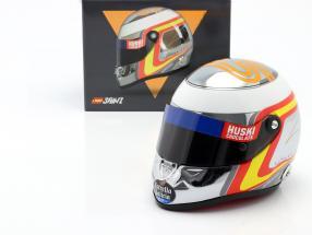 Carlos Sainz jr. McLaren MCL34 #55 formula 1 2019 helmet chrome 1:2 Schuberth