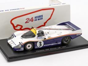 Porsche 956 #3 Holbert / Haywood / Schuppan Winner LeMans 1983 1:43 Spark / 2. choice
