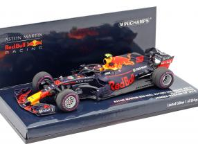 Max Verstappen Red Bull Racing RB14 #33 Sieger Mexiko GP F1 2018 1:43 Minichamps