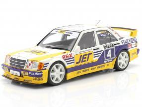 Mercedes-Benz 190E 2.5-16 Evo 1 #4 DTM 1989 Roland Asch 1:18 Minichamps