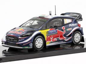Ford Fiesta WRC #2 7th Rallye Finnland 2018 Evans, Barritt 1:43 Ixo