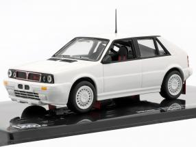 Lancia Delta HF Integrale 16V 1989 Rallye Specs Plain Body Version weiß 1:43 Ixo
