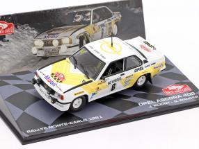 Opel Ascona 400 #6 3rd Rallye Monte Carlo 1981 Kleint, Wanger 1:43 Altaya
