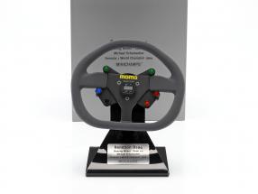 Michael Schumacher Benetton B194 Formel 1 Champion 1994 Lenkrad 1:2 Minichamps
