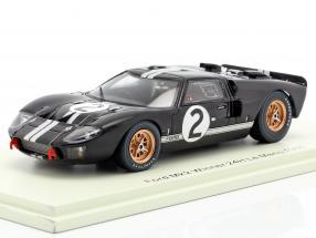 Ford GT40 MK2 #2 Sieger 24h LeMans 1966 McLaren, Amon 1:43 Spark