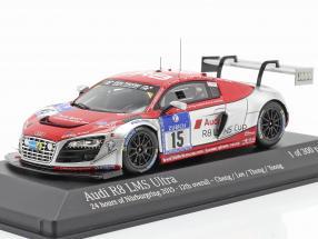 Audi R8 LMS Ultra #15 24h Nürburgring 2015 Audi race experience 1:43 Minichamps
