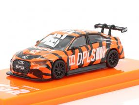 Audi RS3 LMS #74 DPLS Special Edition orange / schwarz 1:64 Tarmac Works