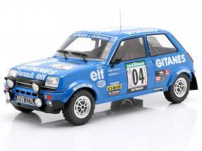 Renault 5 Alpine #4 3rd Rallye Elfenbeinküste 1978 Ragnotti / Andrie 1:18 Ixo