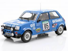 Renault 5 Alpine #5 5th Rallye Ivory Coast 1978 Frequelin, Delaval 1:18 Ixo