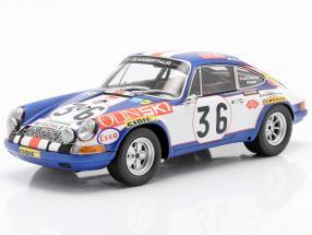 Porsche 911S #36 24h LeMans 1971 Waldegard, Cheneviere 1:18 Minichamps