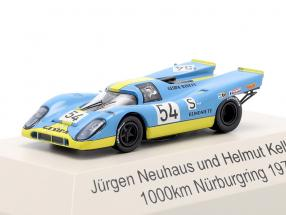 Porsche 917K #54 1000km Nürburgring 1970 Neuhaus, Kelleners 1:87 Brekina