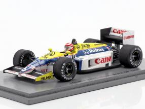Nelson Piquet Williams FW11 #6 Sieger Brasilien GP Formel 1 1986 1:43 Spark