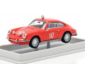 Porsche 911 #147 Rallye Monte- Carlo 1965 1:87 Brekina