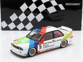 BMW M3 (E30) #5 3rd Macau Guia Race 1990 J. Winkelhock 1:18 Minichamps