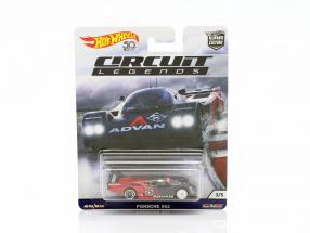 Porsche 962 #25 rot / schwarz 1:64 HotWheels