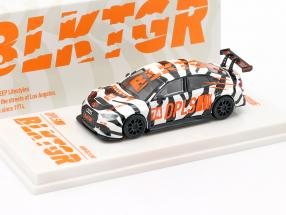 Audi RS3 LMS #74 DPLS Special Edition white / black / orange 1:64 Tarmac Works