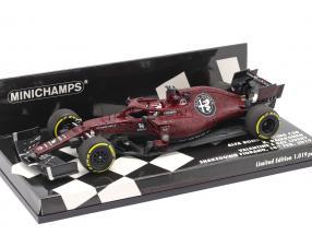 Kimi Räikkönen Alfa Romeo Racing C38 Fiorano Shakedown F1 2019 1:43 Minichamps