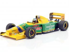 Michael Schumacher Benetton B193B #5 2nd Kanada GP F1 1993 1:18 Minichamps