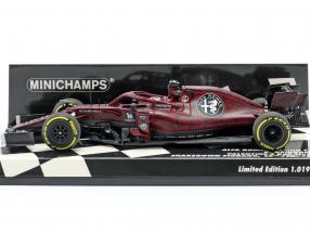 Kimi Räikkönen Alfa Romeo Racing C38 Fiorano Shakedown F1 2019