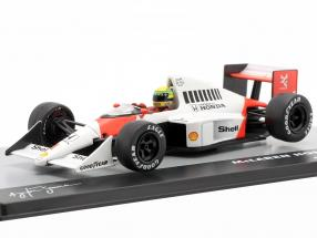 A. Senna McLaren MP4/5 #1 Winner Germany GP F1 1989 1:43 Altaya