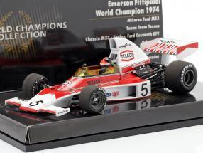 Emerson Fittipaldi McLaren Ford M23 #5 formula 1 World Champion 1974 1:43 Minichamps