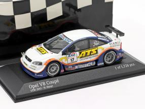 Opel Astra V8 Coupe 2000 #17 DTM 2001 Hubert Haupt 1:43 Minichamps