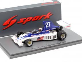 Mario Andretti Parnelli VPJ4 #27 Long Beach GP formula 1 1976 1:43 Spark