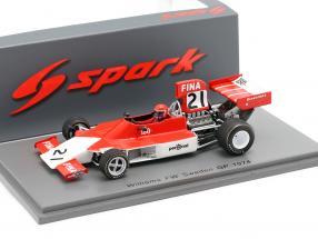 Tom Belso Iso-Marlboro FW #21 Schweden GP Formel 1 1974 1:43 Spark
