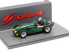 Eric Thompson Connaught A #5 5th Großbritannien GP Formel 1 1952 1:43 Spark