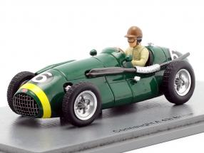 Dennis Poore Connaught A #6 4th Großbritannien GP Formel 1 1952 1:43 Spark