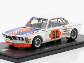 BMW 3.0 CSL #60 Class Winner 1000km Spa 1973 Lauda, Stuck 1:43 Spark