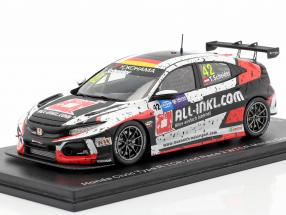Honda Civic Type R TCR #42 2nd Race 2 WTCR Macau Guia Race 2018 1:43 Spark
