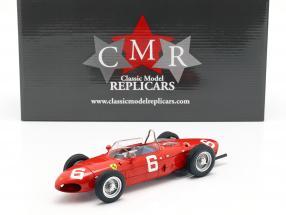 Richie Ginther Ferrari 156 Sharknose #6 3rd Belgian GP formula 1 1961 1:18 CMR