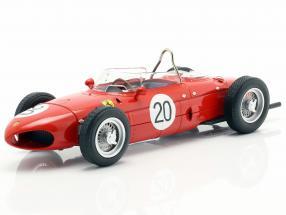 W. Graf Berghe v. Trips Ferrari 156 Sharknose #20 French GP F1 1961 1:18 CMR
