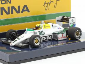 Ayrton Senna Williams Ford FW08C #1 Donington Park Test Formel 1 1983 1:43 Minichamps