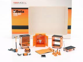 Workshop Equipment Accessories Beta Tool Set 1:18 TrueScale