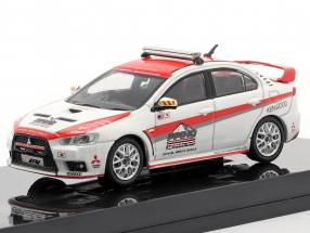 Mitsubishi Lancer Evolution X Pikes Peak Safety Car weiß / rot 1:64 Tarmac Works