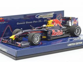 Sebastian Vettel Red Bull Racing Renault RB5 Showcar Formel 1 2010 1:43 Minichamps