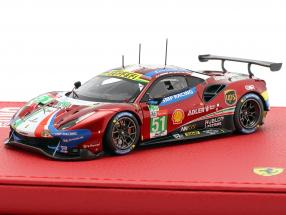 2-Car Set Ferrari 166MM #22 / 488 GTE #51 Sieger 24h LeMans 1949 / 2019 1:43 BBR