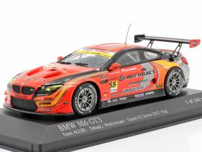 BMW M6 GT3 #55 Super GT Series Fuji 2017 Walkinshaw, Takagi, 1:43 Minichamps