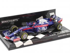 Daniil Kvyat Scuderia Toro Rosso STR14 #26 Monaco GP F1 1 2019 1:43 Minichamps