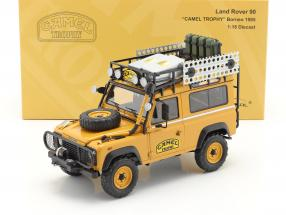 Land Rover 90 Camel Trophy Borneo 1985 yellow-brown 1:18 Almost Real