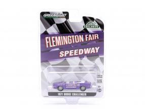 Dodge Challenger Convertible Pace Car Flemington Fair Speedway 1971 purple 1:64 Greenlight