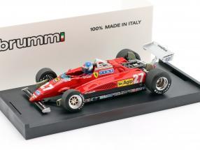 Patrick Tambay Ferrari 126C2 turbo #27 Italien GP Formel 1 1982 1:43 Brumm