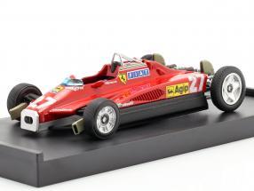 Gilles Villeneuve Ferrari 126C2 #27 Transport Version 1:43 Brumm