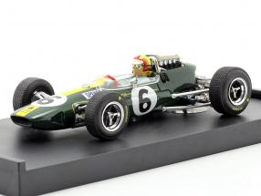 Mike Spence Lotus 33 #6 Italy GP F1 1965 with figure 1:43 Brumm